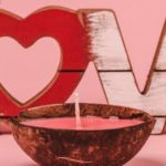 """""""Love Spell"""" candle from Backyard Candles"""